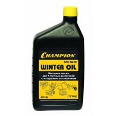 Champion Масло 4-тактное минеральное, SAE5W30 (1л)