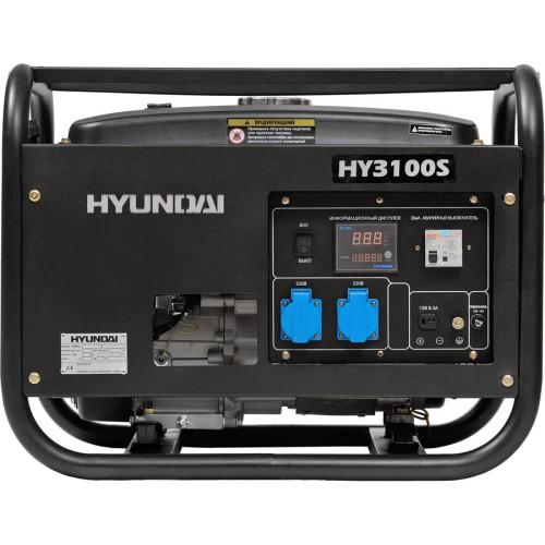 бензиновый генератор hyundai hy3100 se