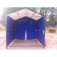 Сфера Палатка сварщика Новатор-Универсал 2,5x2,5 м с тентом из тарпаулина