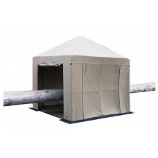 Tent Палатка сварщика 3х3 ( м ) Брезент. Усиленный каркас труба 25мм.