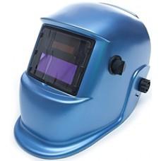 Маска сварщика с АСФ MEGA-350D синяя