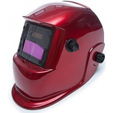Маска сварщика с АСФ MEGA-350D красная