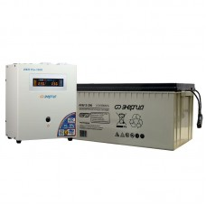 Комплект ИБП Инвертор Энергия ИБП Pro 1000 + Аккумулятор 200 АЧ
