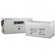 Комплект ИБП Инвертор Энергия ИБП Pro 1700 + Аккумулятор 100 АЧ