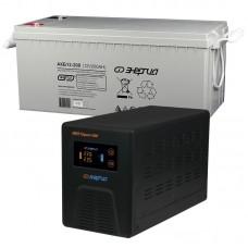 Комплект ИБП Инвертор Энергия Гарант 500 + Аккумулятор 200 АЧ