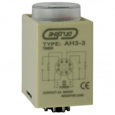 Pеле времени 220V AH3-3 (0 - 60 min) AC Энергия
