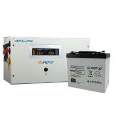 Комплект ИБП Инвертор Энергия ИБП Pro 1700 + Аккумулятор 55 АЧ