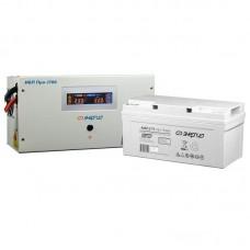 Комплект ИБП Инвертор Энергия ИБП Pro 1700 + Аккумулятор 75 АЧ