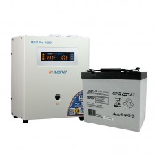 Комплект ИБП Инвертор Энергия ИБП Pro 1000 + Аккумулятор 55 АЧ
