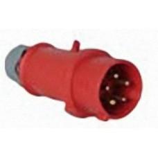 EWM 5POLE/CEE/16A/M; Mains plug