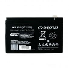 Аккумулятор Энергия АКБ 12–9