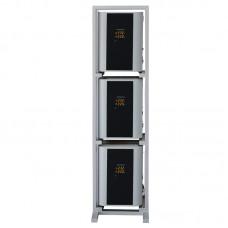 Стойка вертикальная для навесных стабилизаторов серая Энергия 141-38-24