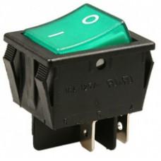 Кнопка сетевая 220В 16А 2-х позиц.